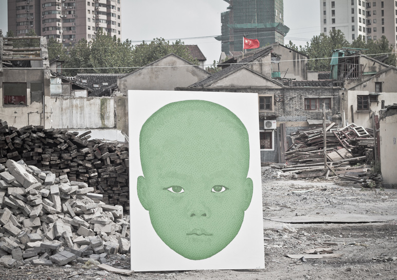 Phil Akashi - Shikumen in demolition, Shanghai 2013
