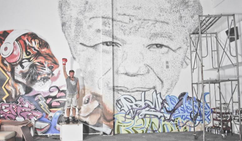Phil Akashi Tribute to Mandela