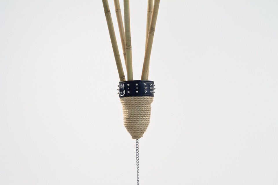 Phil Akashi the Circle of Time bamboo hemp rope leather