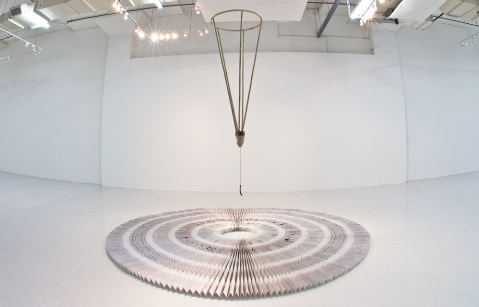 Phil Akashi the Circle of Time installation view